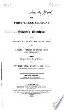The First Three Sections of Newton's Principia Pdf/ePub eBook