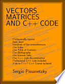 Vectors, Matrices and C++ Code