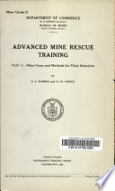 Advanced Mine Rescue Training