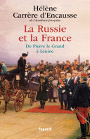 Pdf La Russie et la France Telecharger