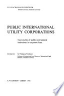 Public International Utility Corporations