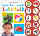 Simple First Words Let s Talk Book