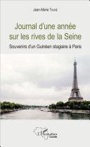Journal d'une année sur les rives de la Seine [Pdf/ePub] eBook