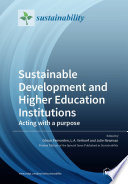 Sustainable Development and Higher Education Institutions Book