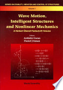 Wave Motion  Intelligent Structures and Nonlinear Mechanics