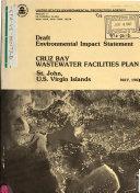 Cruz Bay Wastewater Facilities Plan  St John