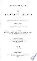 Arcana Coelestia Book