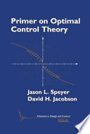 Primer on Optimal Control Theory
