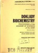 Doklady  Biochemistry