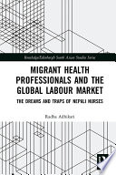 Migrant Health Professionals And The Global Labour Market