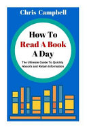 How to Read a Book a Day