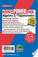 Algebra 2/Trigonometry Power Pack