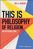 This is Philosophy of Religion Pdf/ePub eBook