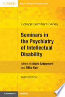 Seminars in the Psychiatry of Intellectual Disability Book