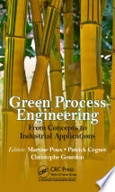 Green Process Engineering Book PDF