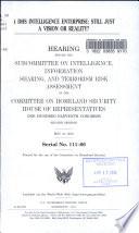 A DHS Intelligence Enterprise