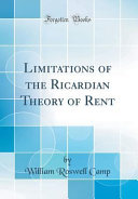 ricardian theory of rent notes
