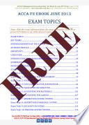 Acca F2 Fma Study Text Pdf Full View Download