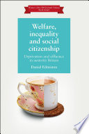 Welfare  Inequality and Social Citizenship