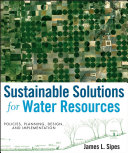 Sustainable Solutions for Water Resources Pdf/ePub eBook