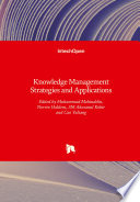 Knowledge Management Strategies and Applications