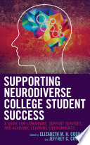 Supporting Neurodiverse College Student Success Book