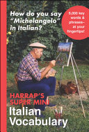 Harrap s Super Mini Italian Vocabulary