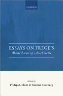 Pdf Essays on Frege's Basic Laws of Arithmetic Telecharger