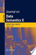 Journal On Data Semantics X Book PDF