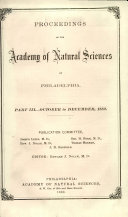 Proceedings of the Academy of Natural Sciences [Pdf/ePub] eBook