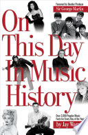 On this Day in Music History Pdf/ePub eBook