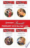 Harlequin Presents February 2016 Box Set 1 Of 2