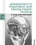 Assessment in Psychiatric and Mental Health Nursing