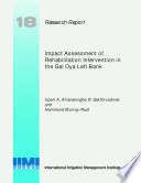 Read Online Impact Assessment of Rehabilitation Intervention in the Gal Oya Left Bank For Free