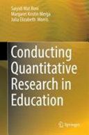 Conducting Quantitative Research In Education