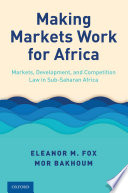 Making Markets Work for Africa Book PDF