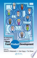 An Integrated Approach To New Food Product Development Book PDF