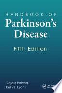 Handbook of Parkinson s Disease  Fifth Edition Book