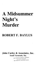 A Midsummer Night s Murder