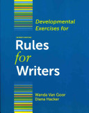 Developmental Exercises for Rules for Writers Book
