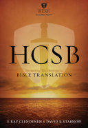 HCSB   Bible Translation