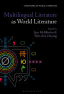 Pdf Multilingual Literature as World Literature Telecharger