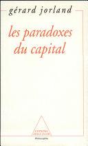 Paradoxes du capital (Les)