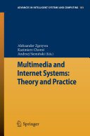 Multimedia and Internet Systems  Theory and Practice