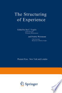 The Structuring Of Experience Book PDF