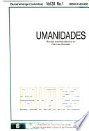 UIS humanidades  , Volume 30, Issue 1