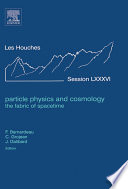 Particle Physics and Cosmology: the Fabric of Spacetime