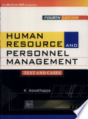 """""""Human Resource And Personnel Management"""" by K Aswathappa"""