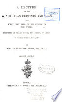 A Lecture on the Winds  Ocean Currents  and Tides and what They Tell of the System of the World     Book