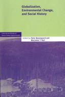 Globalization  Environmental Change  and Social History